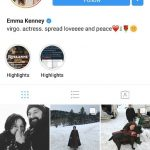 Emma Kenney's Instagram Page