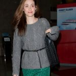 Emmy Rossum Designs Bag For Charity