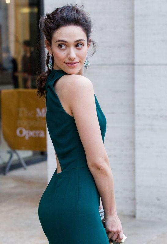Emmy Rossum Posing