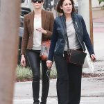 Emmy Rossum With Her Mother Cheryl Rossum