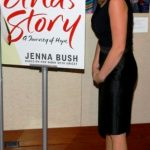 Jenna Bush With Her Book