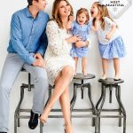 Jenna Bush With Her Husband And Daughters