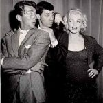 Jerry Lewis (Middle) With His Ex-Girlfriend Marilyn Monroe (Right)