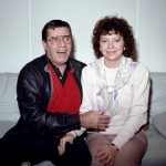 Jerry Lewis With His Wife SanDee Pitnick