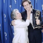 Jerry Seinfeld with his mother
