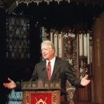 Jimmy Carter Giving Speech