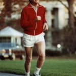 Jimmy Carter Jogging