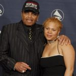 Katherine Jackson's husband Joe Jackson with her step-daughter JohVonnie Jackson
