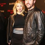 Kate Upton with her husband Justin Verlander