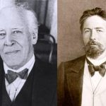 Konstantin Stanislavski (left), and Anton Chekhov (right)