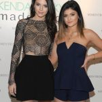 Kylie Jenner with her sister Kendall Jenner