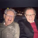 Larry King With His Brother Marty Zieger