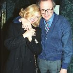 Larry King With His Ex-Girlfriend Deanna Lund