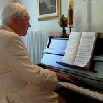 Pope Benedict XVI Playing Piano