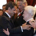 Olivia de Havilland Honored By Nicolas Sarkozy