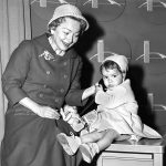 Olivia de Havilland With Her Daughter Gisèle Galante
