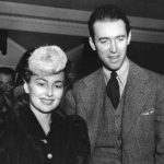 Olivia de Havilland With Her Ex-Boyfriend James Stewart