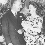 Olivia de Havilland With Her Ex-Husband Marcus Goodrich