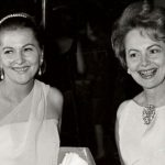 Olivia de Havilland With Her Sister Joan Fontaine