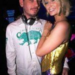 Paris Hilton and DJ AM