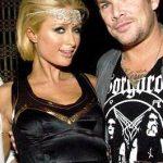 Paris Hilton and Mark McGrath