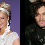 Paris Hilton and Vincent Gallo