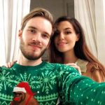 PewDiePie with her girlfried Marzia