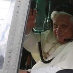 Pope Benedict XVI-flying his helicopter