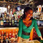 Shanola As A Bartender