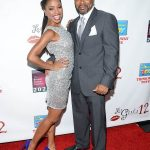 Shanola Hampton With Her Husband Daren Dukes
