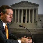 Ted Cruz In Front Of US Supreme Court
