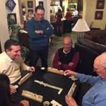 Ted Cruz Playing Dominoes