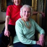 Vera Lynn With Her Daughter Virginia Penelope Anne Lewis