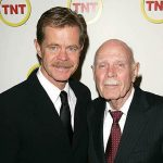 William H Macys With His Father William Hall Macy Sr