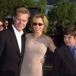 William H Macy With His Son (Right) William H Macy III