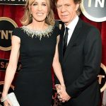William H Macy With His Wife Felicity Huffman