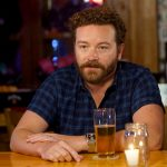 Danny Masterson drinking beer