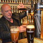 Dean Norris Drinking beer