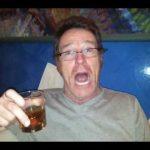 Bryan Cranston drinking alcohol
