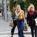 Amy Smart (Left) With Her Mother Judy Lysle Carrington (Right)