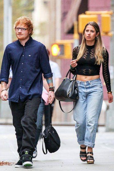 Cherry Seaborn with Ed Sheeran