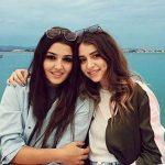 Hande Erçel With Her Sister Gamze Ercel