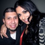 Huda Kattan with her husband Christopher