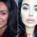 Huda before and after transformation