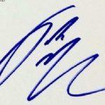 Jake McDorman Signature