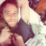 Jake McDorman With His Love And Cat
