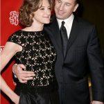 Joan Cusack With Her Husband Richard Burke