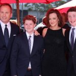 Joan Cusack With Her Sons