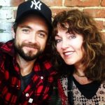 Justin Chatwin With His Mother Suzanne Chatwin