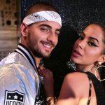 Maluma With His Ex-Girlfriend Anitta